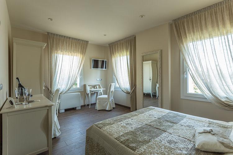 Bed and breakfast con camere rilassanti ed intime a treviso for B b arredi